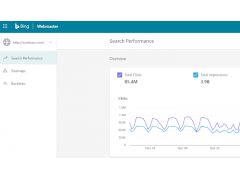 Das neue Bing Webmaster Tool Interface