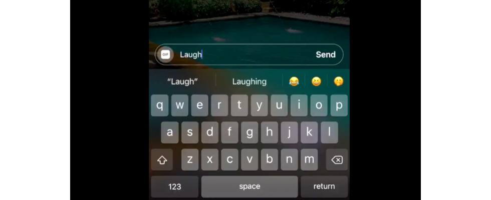 Instagram: Ab sofort können User mit GIFs auf Stories reagieren