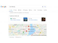 Googles Local SERPs mit Anzeige von Drittanbietern