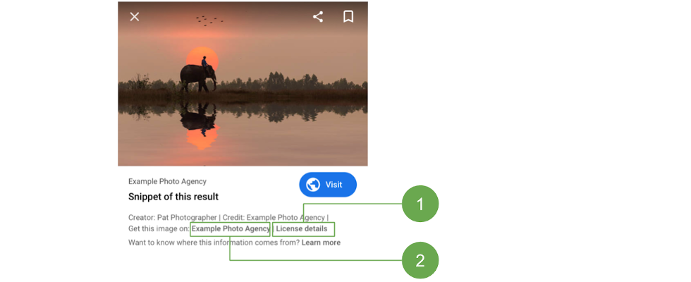 Google testet Markup für Bilder-Lizenzierung in der Suche