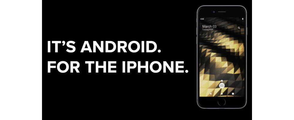 Android auf dem iPhone: Startup wirft Apple den Fehdehandschuh hin