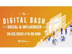 Titelbild Digital Bash Social and Influencer