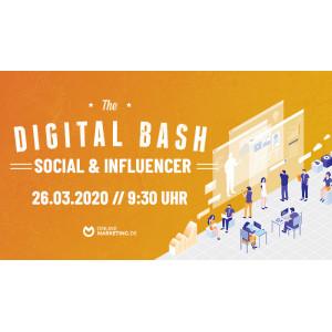 Titelbild Digital Bash Social and Influencer
