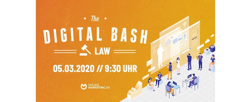 Alles zu Cookies, DSGVO und Bildlizenzen – The Digital Bash: Law