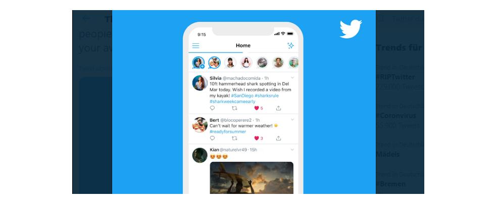 Fleets statt Tweets? Twitter testet neues Story Feature