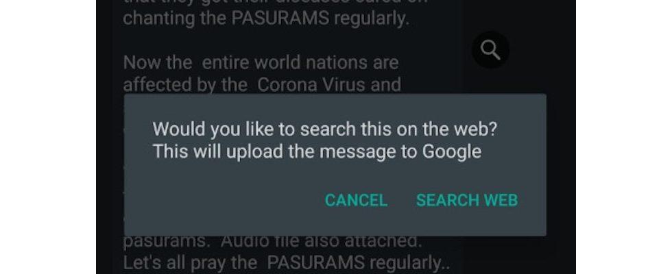 WHO-Chatbot, Info-Website und Recherche-Feature: WhatsApp kämpft gegen Desinformationen zu COVID-19