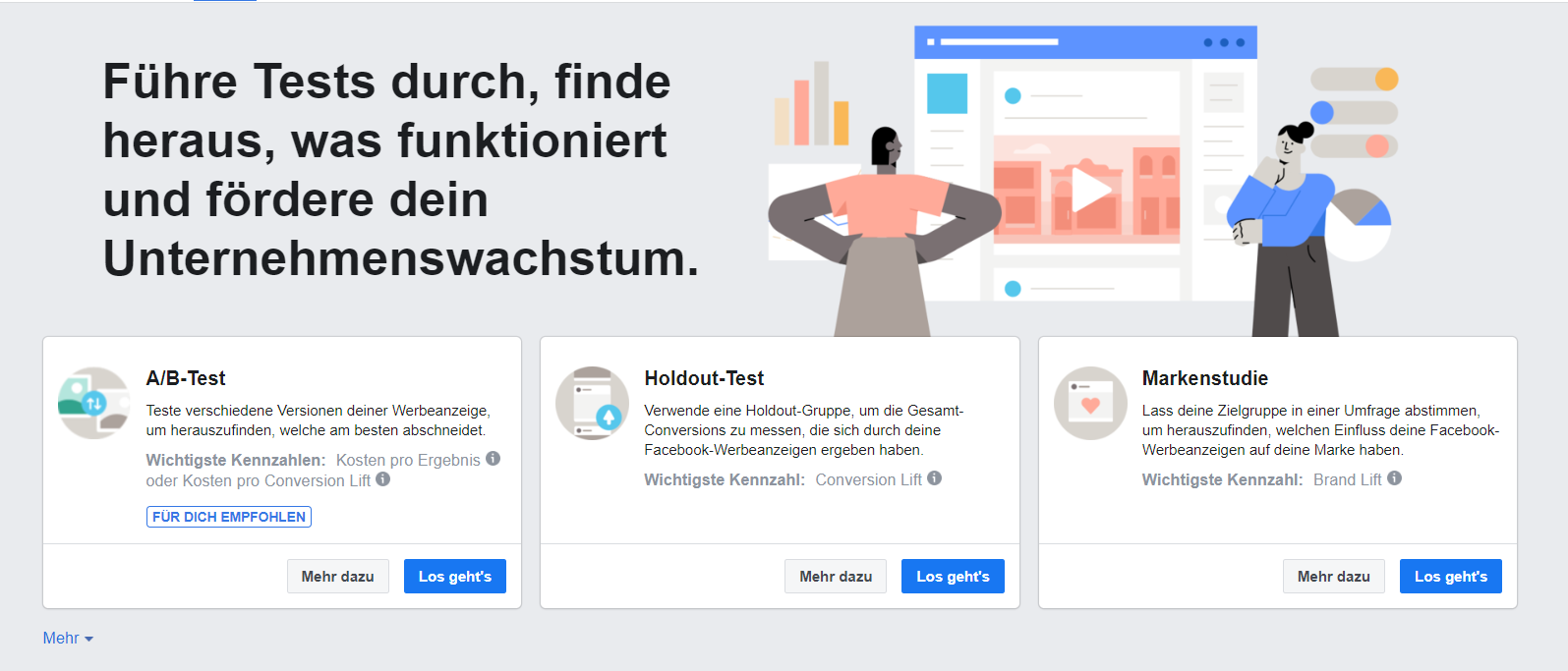 Screenshot Facebook Ads Manager