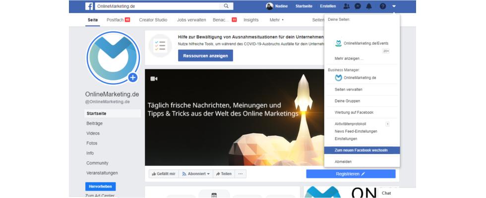 Neues Facebook-Design endlich für alle da – so wechselst du