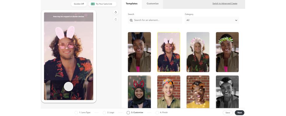 Für die nächste Kampagne: Snapchat Lenses im Selbstbau-Kit