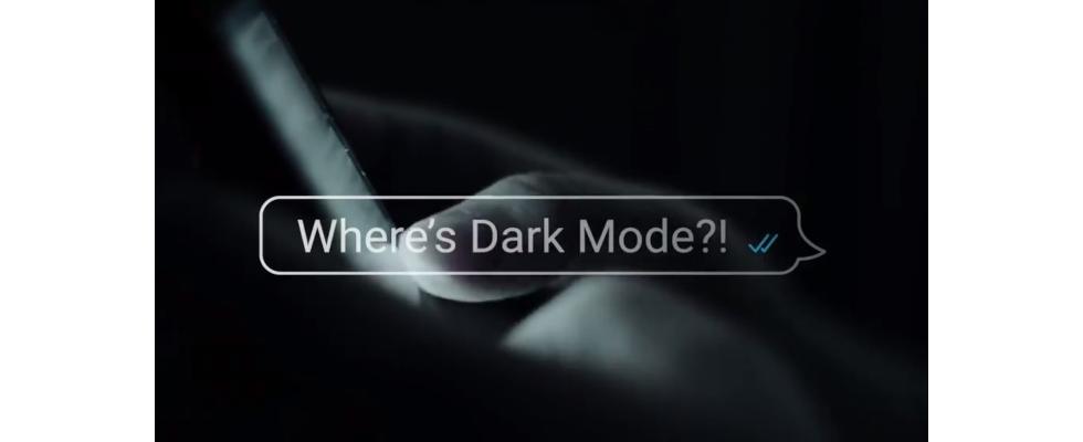 Endlich: WhatsApp präsentiert seinen Dark Mode
