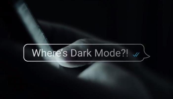 WhatsApp Dark Mode 1