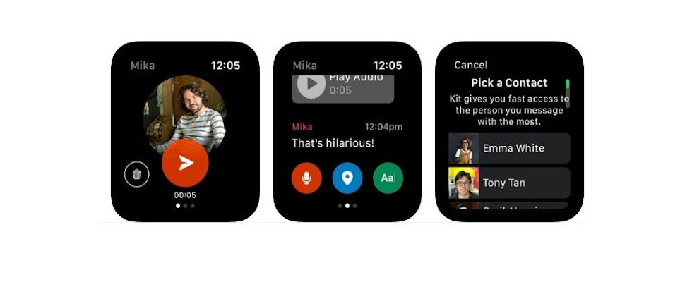 Facebook launcht neue Messenger App für die Apple Watch