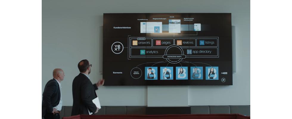 Yext verhilft Barmenia zu 35 Millionen Impressions für digitale Einträge
