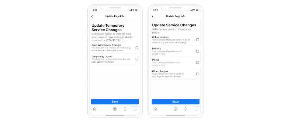 Facebook Pages: So kannst du temporäre Updates für Unternehmen einstellen