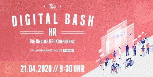 The Digital Bash – HR 2020: Mitarbeitermanagement im digitalen Zeitalter