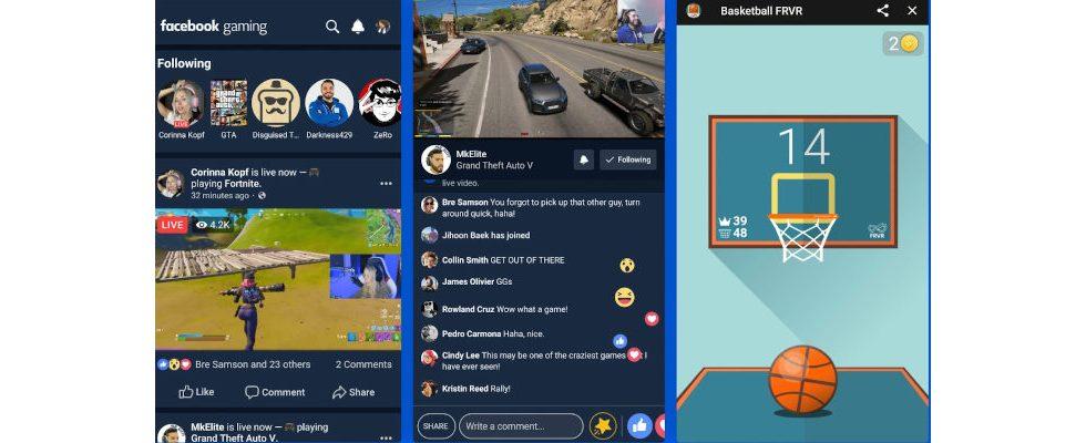 Angriff auf Twitch und YouTube? Facebook launcht Gaming App