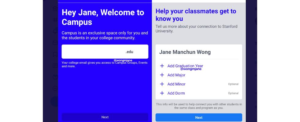 Back to the roots? Facebook testet Campus für Studierende