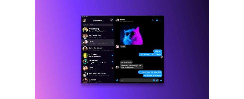 Facebook: Die Desktop App für den Messenger ist endlich da