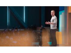 Mark Zuckerberg auf der Bühne