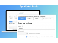 Spotify Ad Studio Deutschland