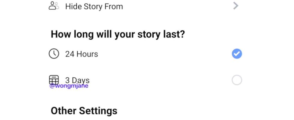 Stories für 3 Tage: Facebook testet große Neuerung