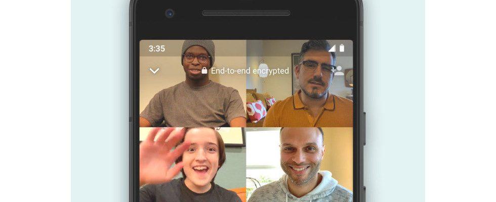 WhatsApp: Bald bis zu 8 User pro Video Call