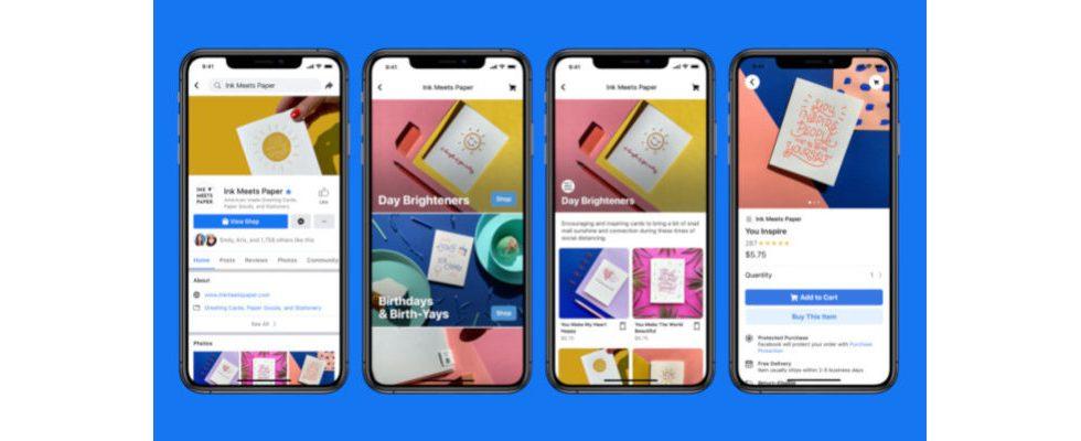Revolution des E-Commerce? Facebook launcht Shops und neue AI Tools