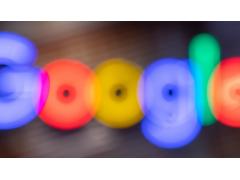 Google Logo verschwommen