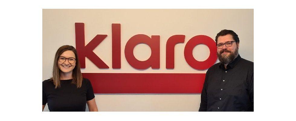 Nach erfolgreichem Relaunch: Sandra Poltier und Marco Maria Gerlach steigen bei klaro media auf