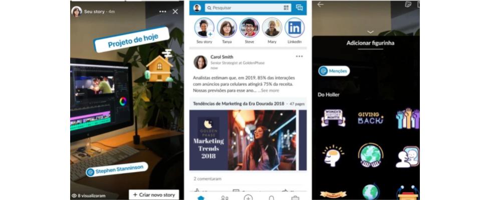 LinkedIn Stories für erste Nutzer ausgerollt