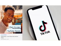 Onkel Banjou und TikTok auf Smartphone