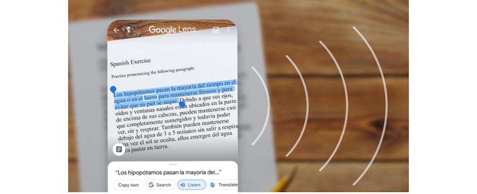 Google Lens bringt handschriftliche Notizen als Dokument auf den PC