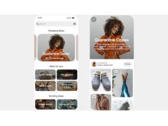 Shopping Spotlights bei Pinterest: Screenshot des neuen Features