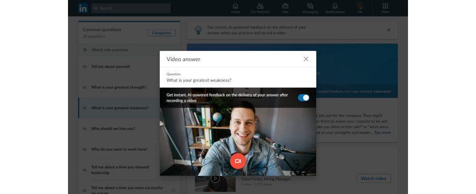 Neue Tools: LinkedIn hilft mit Video Introduction bei Bewerbung in Coronazeiten