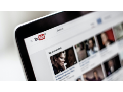 YouTube App auf Tablet