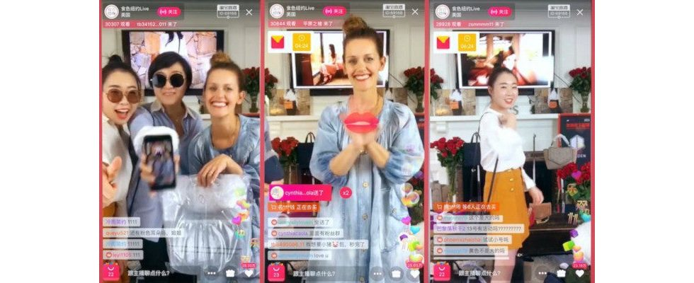 Alibaba setzt bei Live Shopping auf Influencer von TikTok, Instagram und Co.