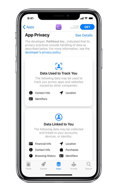 Apple zeigt mit iOS 14 mehr Informationen zum Tracking-Verhalten von Apps