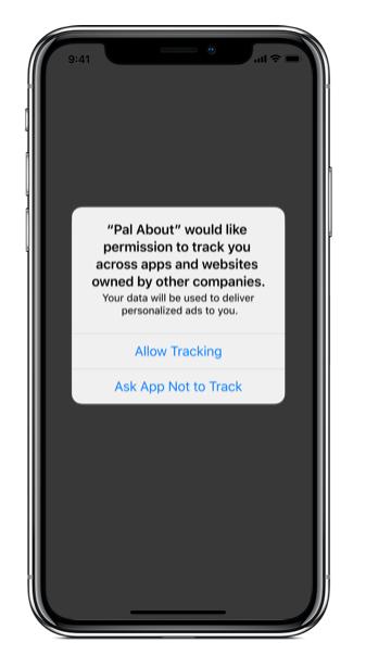 Apps für iOS fordern künftig die Einwilligung der User für Tracking, © Apple