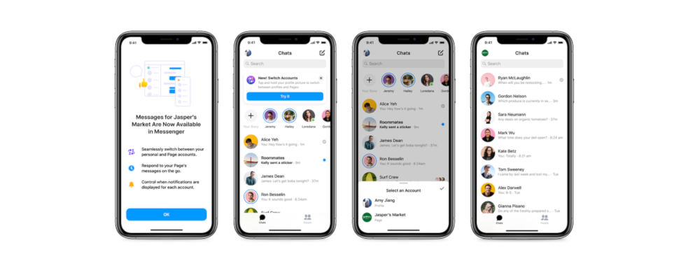 Profil wechsel dich: So switchst du zwischen Business und privatem Profil im Messenger