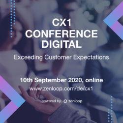 CX1 Konferenz Digital – Exceeding Customer Expectations