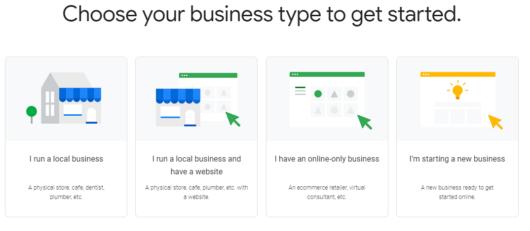 Google bietet vier verschiedene Guides für kleine Unternehmen an