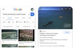 Google Factcheck Label bei der Bildersuche