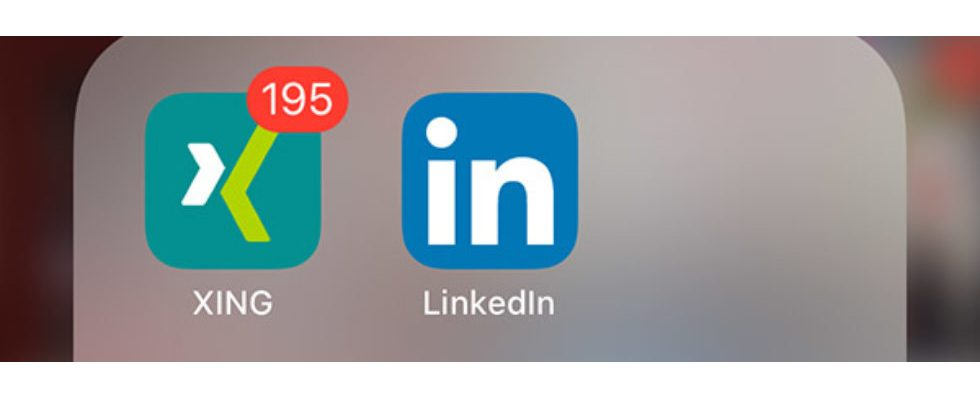 Kurz erwähnt: LinkedIn oder XING?