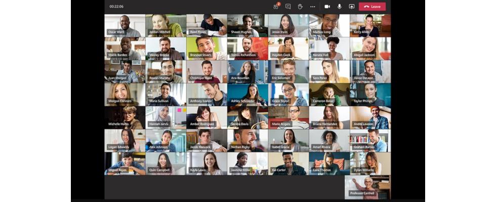 Microsoft Teams rüstet auf: Neues Layout für die Teilnehmeranzeige