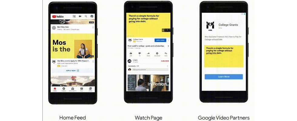 Lead-Formulare und Produkte zum Scrollen: YouTube macht Video Ads stärker shoppable