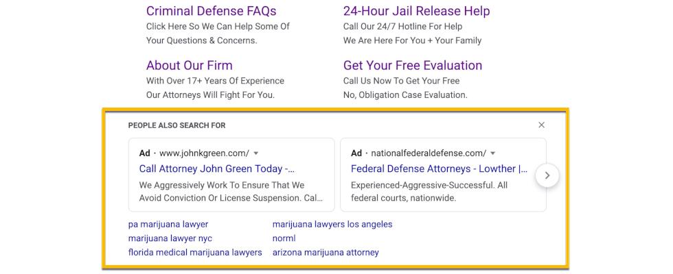 Google: Ad-Karussell jetzt auch in der Desktopsuche