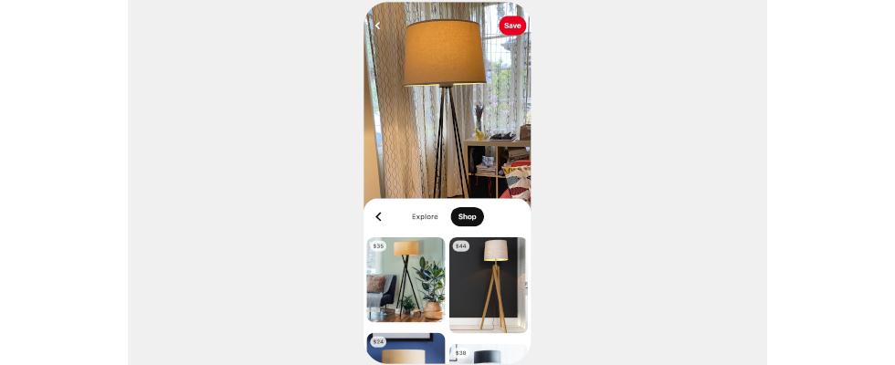 Noch schneller zum Produkt: Pinterest launcht den Shop Tab für Lens