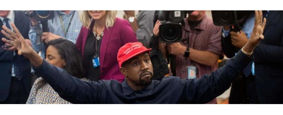 Kurz erwähnt: Kanye West will Präsident werden
