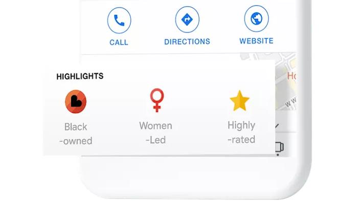 """Google führt Label für """"Black-owned"""" Businesses ein"""