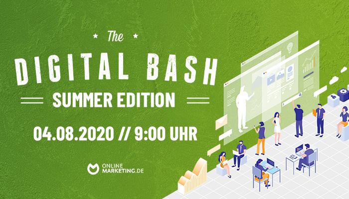 So kommst du mit deinen Online-Kampagnen nicht ins Schwitzen: The Digital Bash – Summer Edition